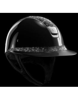 Samshield Miss Shield Glossy Svart - Crystal Fabric & Silver Chrome