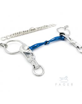 Fagers Icelandic Titanium Single Jointed Short Shanks bit SABINA