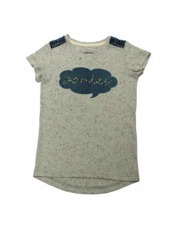 Horseware Girls Novelty Tee T-shirt Barn Grön
