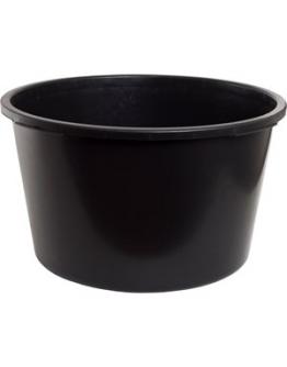Balja rund, svart