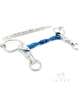 Fagers Icelandic Titanium Double Jointed Short Shanks bit SABINA