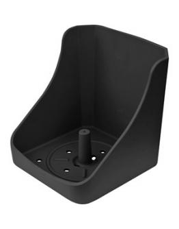 Slickstenshållare svart, 10 kg