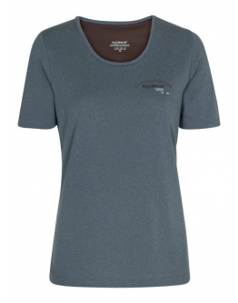 Equipage T-Shirt Nina Junior (122/128, Indigoblå)