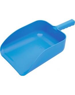 Foderskopa plast blå