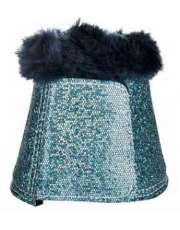 HKM Boots Glitter (Färg: Turkos, Storlek: XL)