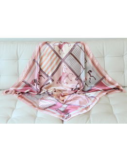 Scarf Horses Pink