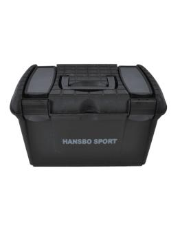 Hansbo Sport Ryktbox Svart