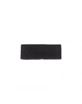Pikeur pannband med strass svart