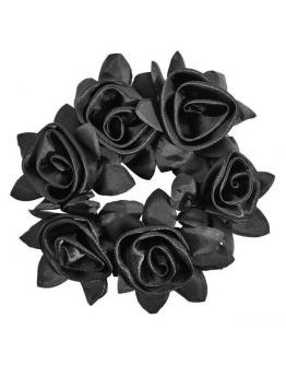 SD Design Rose Scrunchie (Svart)