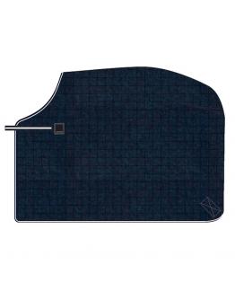 Wool exercise rug blå L