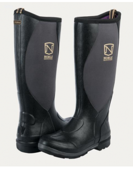 Noble Outfitters Muds High (40, Svart/Blackberry)