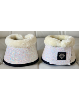 BOOTS SUPERGLITTER WHITE SNOW TEDDY