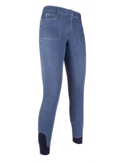 Ridbyxa mjuk jeans stl 32 helskodd Lauria Garelli