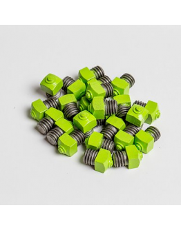Grön vinterbrodd 8 mm