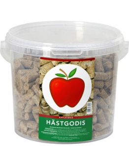 Hästgodis Delizia äpple, 3 kg
