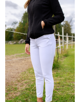 Cavalleria Toscana - Knee-high Perforated Breeches (Khaki)