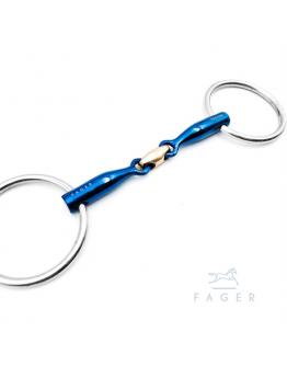 Fagers Titanium Front Lock Loose Rings Bit - OSCAR (Bett som varit uthyrt)