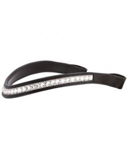 Pannband Crown Azzaro Black/Crystal (Färg: Svart, Storlek: Full)
