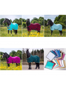 Fleecetäcke Molly Mixade färger Globus Sport