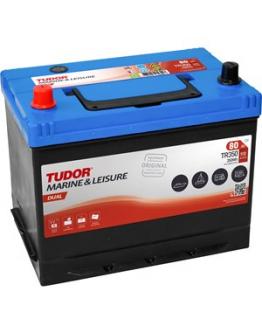 Stängselbatteri Tudor 80 Ah, 12 V