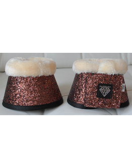 BOOTS GLITTER BRONS TEDDY