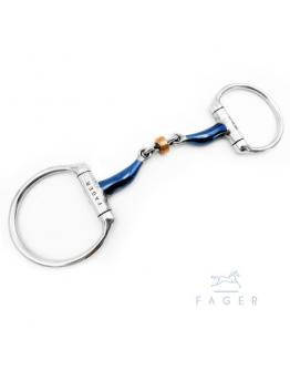 Fagers Tounge Relief Buster Roller Fixed rings JULIA (Bett som varit uthyrt)