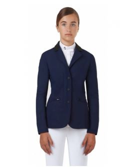 Cavalleria Toscana - Riding Jacket With Micro Print Lining (Marinblå)