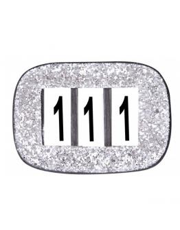 SD Design Nummerlapp glitter
