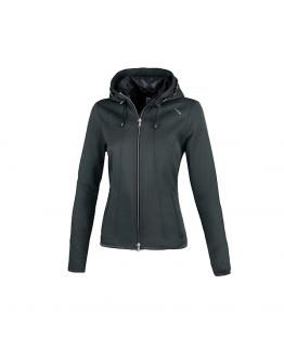 Pikeur Janny Ladies Fleece Jacket  Graphite Melange